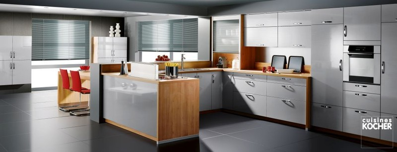 cuisine esthete meubles braye. Black Bedroom Furniture Sets. Home Design Ideas